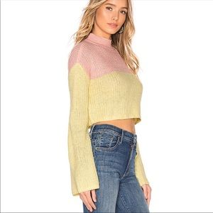 LOVERS + FRIENDS NWT Debbie Color Block Sweater S